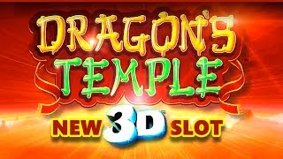 **NEW SLOT** - Dragon's Temple 3D Slot - NICE WIN! - Slot Machine Bonus