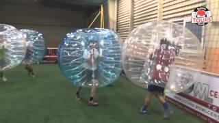 Bubble Bump Tours Soccerpark Joué les Tours ! Team K'Get !