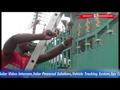 Project videos: Electric Solar Powered Fencing