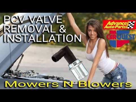 1996 FORD RANGER PROJECT PCV (POSITIVE CRANKCASE VENTILATION) VALVE REMOVAL & INSTALLATION FIX EP.15