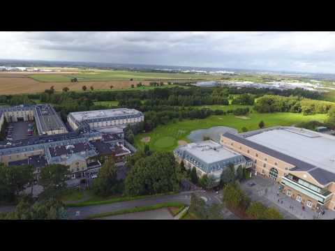 Citywest Hotel From The Sky