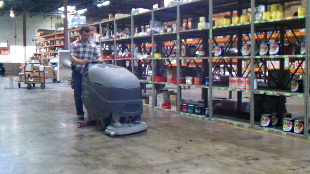 Warehouse Floor Cleaner for SALE works great  YouTube