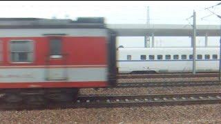 [China Railway]Running Parallel to K138 & CRH380AL Train 滬昆線快速K138次25G型客車・高鉄CRH380ALと並走