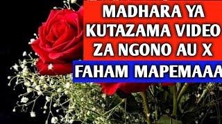 Usitazame Video Za X, Haya ndio Madhara Yake   Love Psychology Ep02