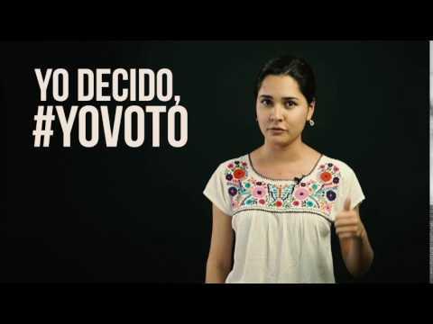 Yo Decido, #YoVoto