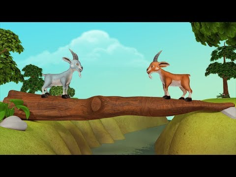 Two Goats Kahaniya | Hindi Stories For Children | Infobells