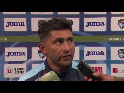 Avant HAC - Valenciennes, interview d'Oswald Tanchot