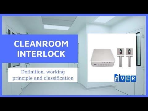 What is cleanroom interlock?