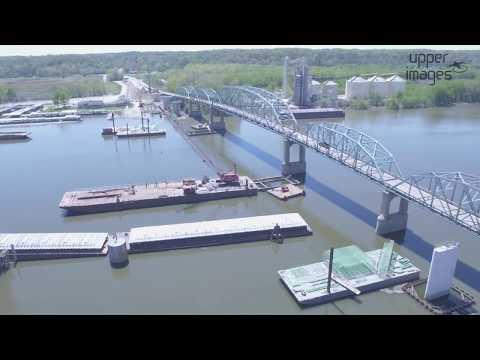 Spring Valley Bridge Construction Project - April 2017