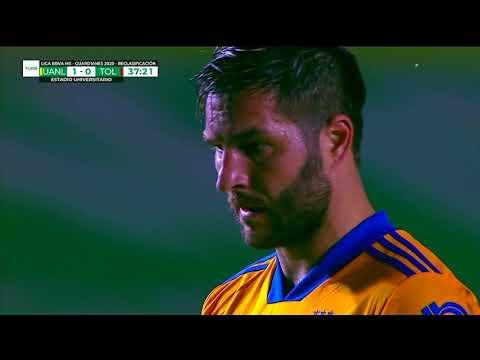 Tigres [2] - 0 Toluca - Andre-Pierre Gignac 38'