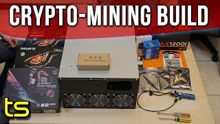 Asus Strix B250H Crypto Mining Rig build with Sam!