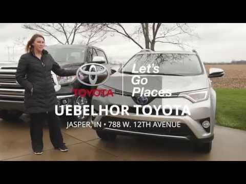Uebelhor And Sons Jasper Indiana >> A Uebelhor Toyota Family Meet Jessica