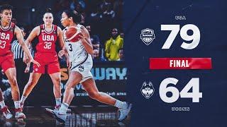 UConn Women's Basketball v. Team USA Highlights 01/27/2020