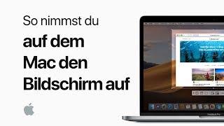 So nimmst du auf dem Mac den Bildschirm auf