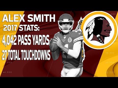 New Redskins QB Alex Smith