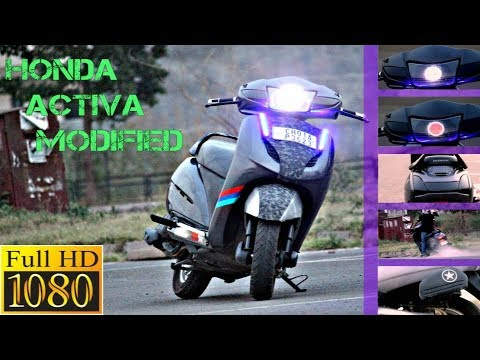Remove Car Scratches With Toothpaste >> modified honda activa | Doovi