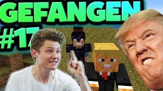 DONALD TRUMP in Minecraft gefunden | Minecraft Gefangen #17 | Dner