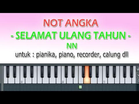 NOT ANGKA - SELAMAT ULANG TAHUN - By Dennyranch