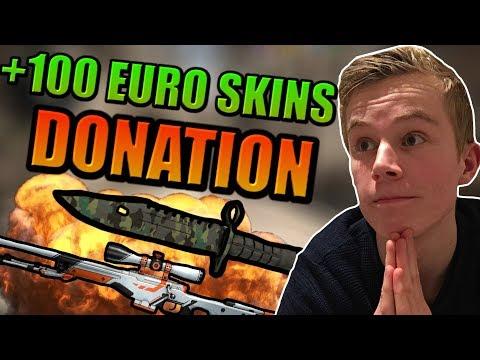 FÅR DONERET 100 EURO SKINS!? - ROAD TO GLOBAL FRA MGE #4!
