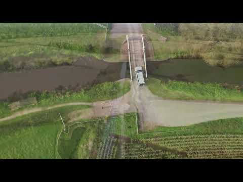 Visit Somerset: Travel the canal from Taunton to Bridgewater by drone