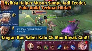 Nyiksa Haiper Musuh Sampe Jadi Feeder, Pake Build Terkuat Hilda!! -MLBB