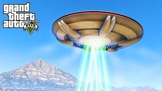 ALIENS DESTROY LOS SANTOS - GTA 5 Alien Invasion Mod - Michael's Family Adventures