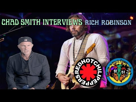 Chad Smith (RHCP) Interviews Rich Robinson (The Black Crowes, The Magpie Salute) 9/17/18