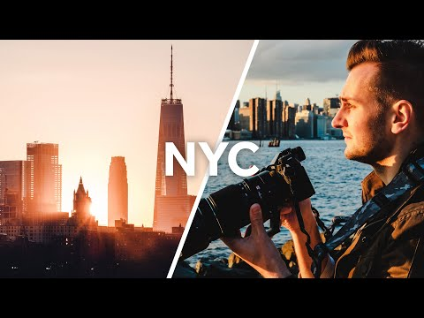 ARRIVING IN NEW YORK — Brooklyn Sunset Photography