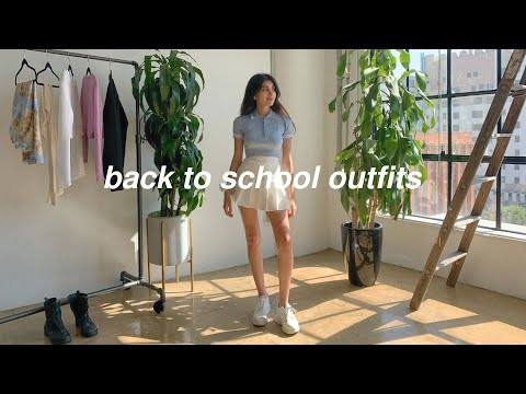 BACK TO SCHOOL OUTFITS AFFORDABLE & TRENDY