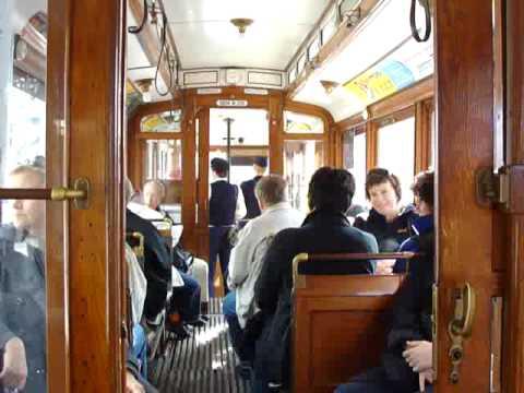 Tram Trip in Stockholm -  Norrmalmstorg to Djurgården