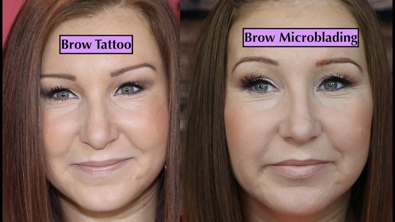 Brow Microblading VS Tattoo (UK) - My Experience, Costs, Pain Etc ...