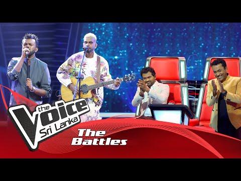 The Battles : John Premshan V Geeth Prasanna | Home  | The Voice Sri Lanka