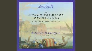 Violin Sonata in D Major, RV 785: I. Adagio