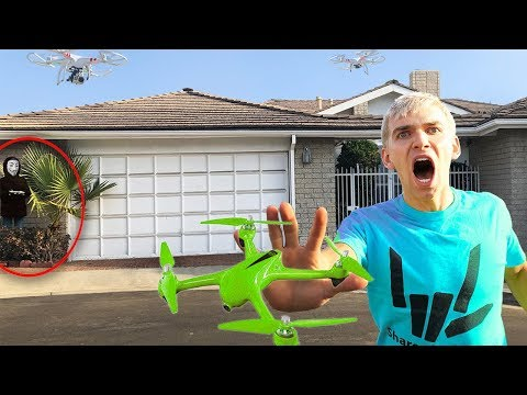 THE GAME MASTER FOUND US!! (ABANDONED SAFE HOUSE TRACKED BY TOP SECRET SPY DRONES)