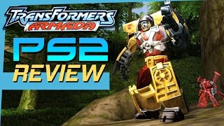 Transformers Armada PS2 Game Review | 2004 Retro PS2 Game Reviews | Second Wind