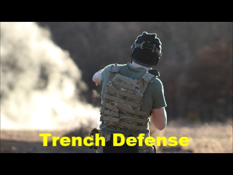 Trench Defense | Airsoft Tulsa Outdoor 1/22/17 | Part 2