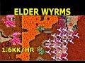 Tibia Where to Hunt - MS/ED 100+   Drefia Elder Wyrm @ Darashia - 1.6kk/hr @ 120 (Team Hunting)
