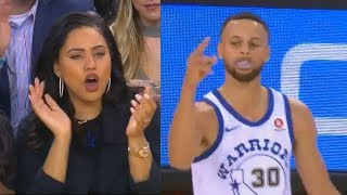 stephen curry impresses ayesha curry on her birthday