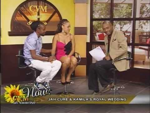 Jah Cure & Kamila Royal Wedding Interview on CVM@SUNRISE