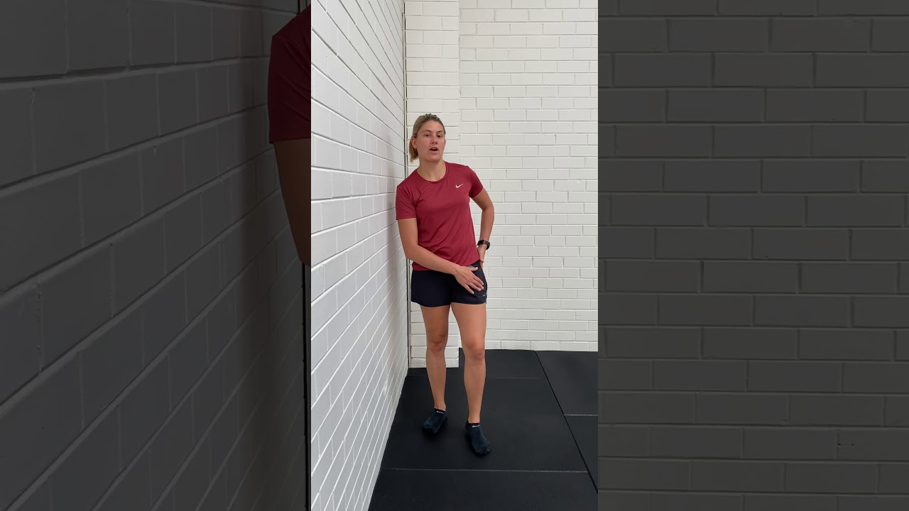 Sprinters Standing Glute Med
