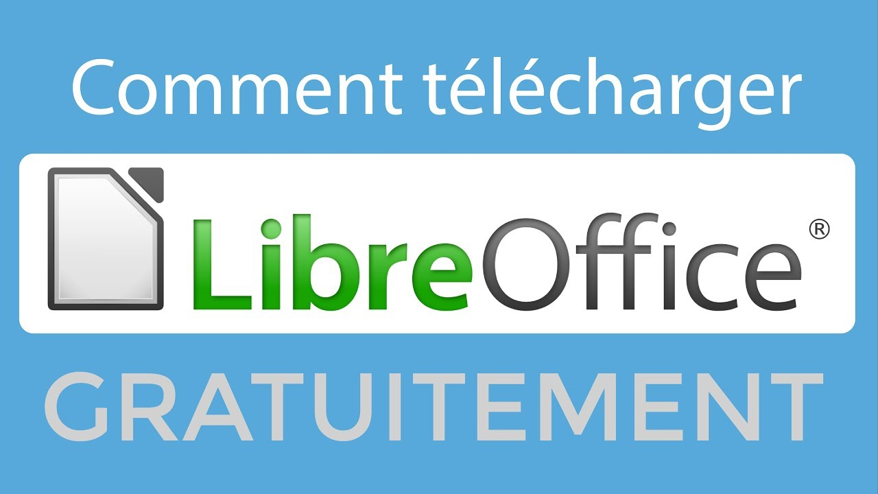 libreoffice telecharger gratuitement en francais