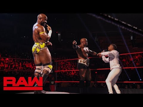 Apollo Crews faces Bobby Lashley in a pose-off: Raw, Jan. 21, 2019