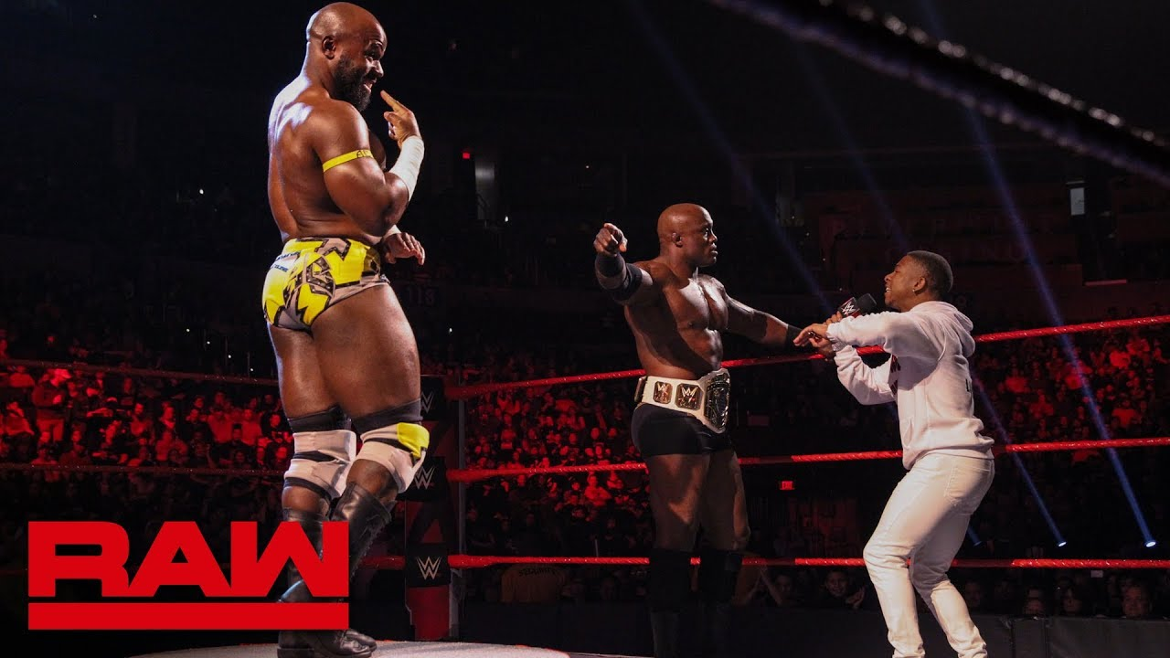 Apollo Crews Faces Bobby Lashley In A Pose Off Raw Jan 21 2019