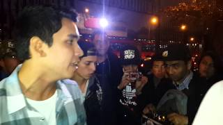 BATALLA DE GALLOS/AFTER VISION 3/AUDICIONES/DUNKEL VS YIRA/FREESTYLE RAP/HIP HOP/AYARA