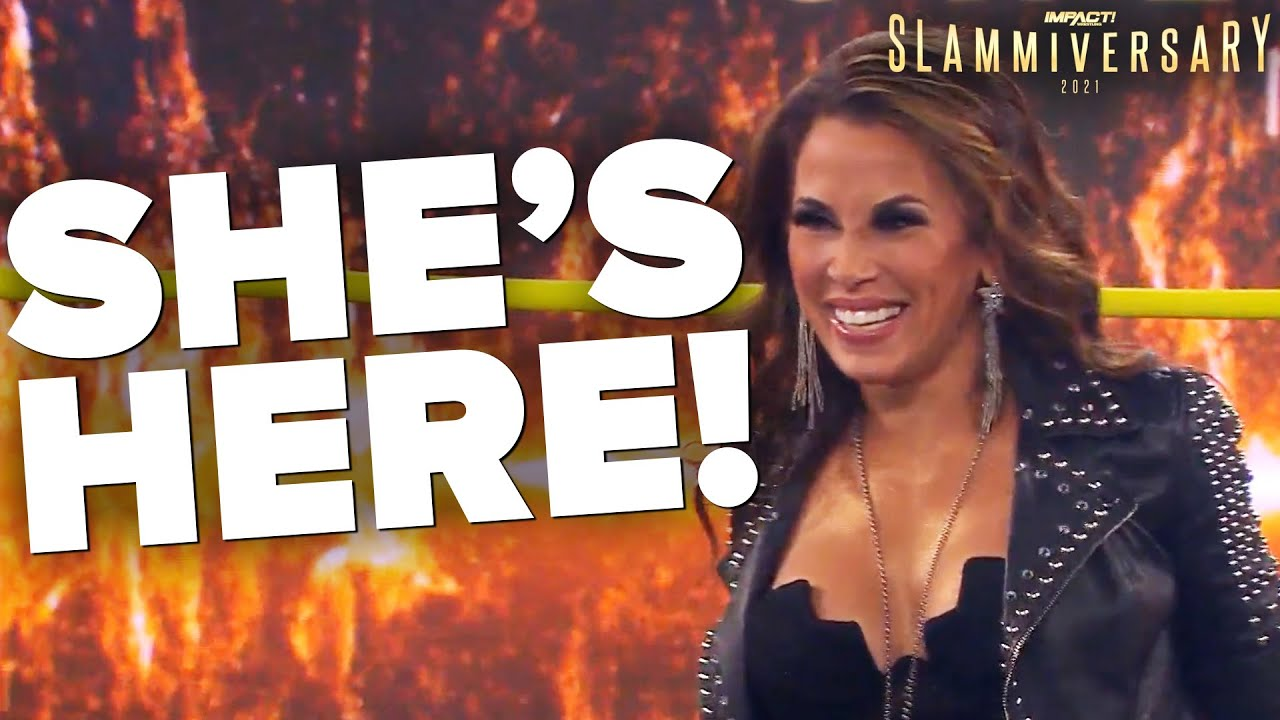Download Mickie James IS BACK in IMPACT Wrestling! | Slammiversary 2021 Highlights