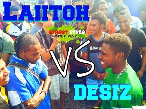 Desiz vs Laiitoh Street Style Rap battle #ssbl