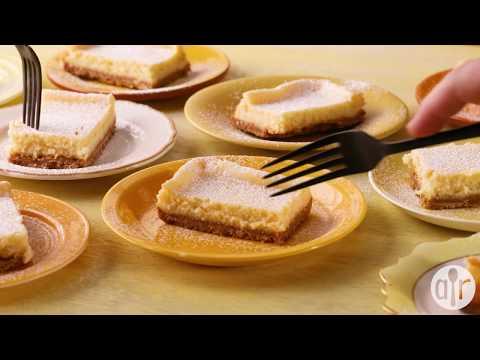 How to Make Lemon Cheesecake Bars | Dessert Recipes | Allrecipes.com