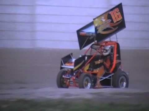 1200cc Mini Sprint Heat Race @ Whip City Speedway