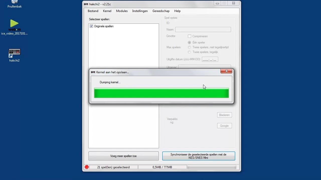 SNES MINI: Flash kernel