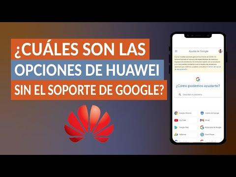 ¿Cuáles son las Opciones de Huawei en Android sin el Soporte de Google?